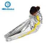 A sobrevida de emergência reutilizáveis portátil à prova de lâmina prateada Camping Saco de Dormir