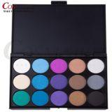 Gamma di colori dell'ombretto di trucco di colori delle estetiche 15 di bellezza dell'OEM del contrassegno privato