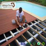 Decking en bois de tenue de protection individuelle Brésil de modèle extérieur avec le système de piédestal
