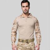 Uniforme tático camuflar do combate do exército militar de 7 cores (SYSG-2011)