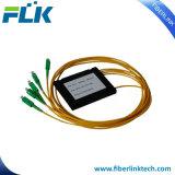 ABS van FTTH/FTTX Gpon 1*4/8/16/32/64 Optische PLC van de Vezel van de Module Splitser Sc/APC