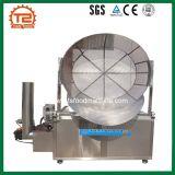 Fiocco fritto Semi-Automatico della macchina e della manioca della friggitrice del gas degli anelli di cipolla che frigge macchina