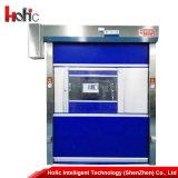 Автоматическая дверь завальцовки PVC промышленная высокоскоростная