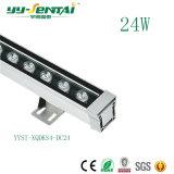 アーキテクチャ照明のための屋外24W LED Wallwasherライト