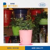 Vaso de cerâmica empilháveis com a Plantadeira Flower Pot Cama Jardim Levantada