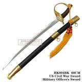 Decoração comandante 60cm da casa da espada do punhal europeu histórico dos punhais