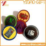 Brooch feito sob encomenda do Pin do Lapel do logotipo com Glitter para presentes