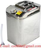 Tanque para Gasolina Auxiliar / Jerrycan Para Combustible Acero Inox - 30L