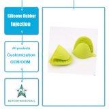 Moulage anti-calorique de gants de four microondes personnalisé par constructeur en caoutchouc de silicones de la Chine