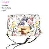 Signora unica Handbags di modo di stampa del fiore del sacchetto di Crossbody di disegno di stile dell'Europa della borsa del commercio all'ingrosso della fabbrica di LC-017 Yuchuang