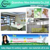 Papier d'Airlaid de roulis enorme de matières premières pour la serviette hygiénique (LS-o12)