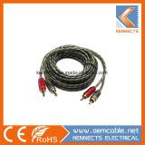 Cavo dell'audio di rendimento elevato OFC del cavo di interconnessione del KE R16