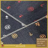 Ткань ткани напечатанных символов чисто для ботинок