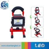 Gules bewegliche Emergency nachladbare Arbeit 10W 20W 30W 50W LED-Flut-Licht