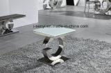 Edelstahl-Sofa-Tisch-Seiten-Tisch-Enden-Tisch-Tisch- für Systemkonsolewohnzimmer-Möbel