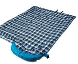 Im Freien kampierender Flanell-Umschlag-Typ Schlafsack