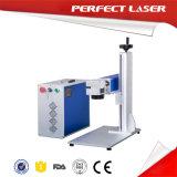 Machine d'inscription de gravure de fibre en métal de plaque en acier de laser