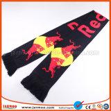 ブランドのロゴのニットの昇進のフットボールのファンのスカーフ