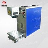 Портативный небольшого размера волокна станок для лазерной маркировки