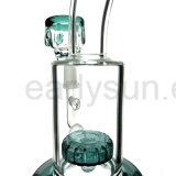 Mini tubo di acqua di fumo di vetro piegato commercio all'ingrosso del collo (ES-GB-225)