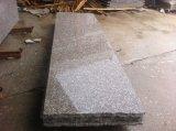 Lajes baratas chinesas do granito do granito G664 cor-de-rosa