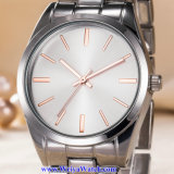 De Zwitserse Pols van het Kristal van het Horloge van de Mensen van het Kwarts van het Embleem van de douane voor de Mens (wy-17003B)