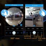 De Slimme IP Camera van kabeltelevisie HD met Camera Vr van de Bol van het Panorama van WiFi Fisheye 3D