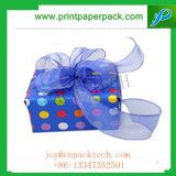 El regalo de Navidad exquisito diseñó el rectángulo de papel de embalaje del regalo para los cabritos