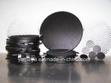 Cor preta grelha de alumínio personalizada do favo de mel