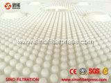 Filtre-presse déchargeant manuel hydraulique de catégorie comestible pour l'amidon