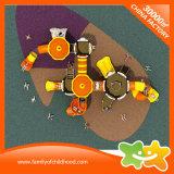 Скольжение игрушек детей парка атракционов большой серии замока напольное для малышей