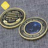 Commerce de gros prix d'usine personnalisé Pièce de monnaie de cuivre plaqué de Bronze en laiton