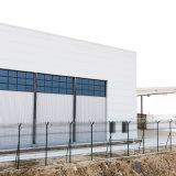 간이 차고 PU 샌드위치 위원회를 가진 Prefabricated 강철 구조물 건물