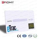 Painel de raspar Cartão Papel RFID para pagamento de bilhete