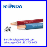 Fio elétrico contínuo 1.5 SQMM do PVC da BV