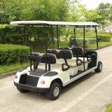 Elektrisches Sport- Waren-Golf-Auto mit 6 Seater dem weißen Rot (DG-C6)