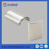 Uitstekende kwaliteit Aangepaste Boog NdFeB Magnet Imanes DE Neodimio