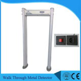 アーチ道の金属のDerectorのゲートを通して歩行を防水しなさい