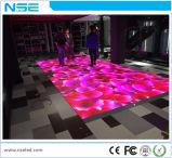 Le verre trempé 3D portatif de tuile de panneau de disco du DJ allument l'Afficheur LED de P6.25 Dance Floor