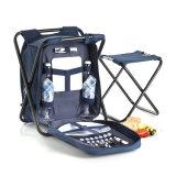 Sac à dos pliable extérieur de pique-nique de sac de refroidisseur de pêche de plage de stationnement