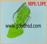 35% hohe brutto grüne Farbe Masterbatch für Einspritzung-Plastikprodukt