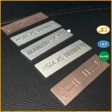 Nameplate стола офиса названной плиты металла логоса мычки для дома