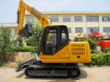 mini escavatore del cingolo di 7.5t 65HP