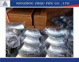 304 316 la norme ANSI B16.9 Raboutée coude de 90 degrés en acier inoxydable (plier)