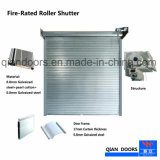 Obturateur automatique Fire-Rated Rouleau en acier