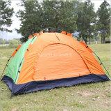 2 Personen-doppelte Schicht-Fiberglas-Pole-kampierendes Zelt