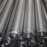 Boyau flexible ondulé annulaire d'acier inoxydable