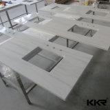Modernos Muebles de baño de resina de piedra de la Vanidad Top