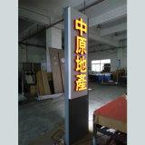 Segno obbligatorio del pilone del segno di traffico della scheda del segno del LED