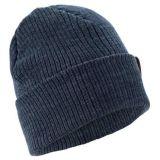 Gorrita tejida de encargo del sombrero del invierno de la marina de la venta caliente